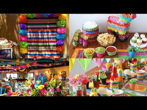 Ideas para decoracion de fiesta mexicana cumpleanos - Ideas para decorar fiestas ...