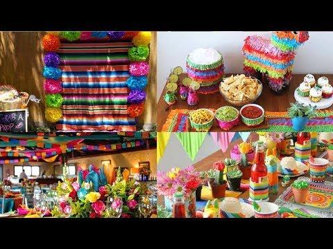 Ideas para decoracion de fiesta mexicana cumpleanos - Ideas decoracion fiestas ...
