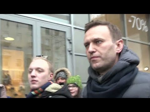 Russian opposition leader Navalny arrested amid election protests