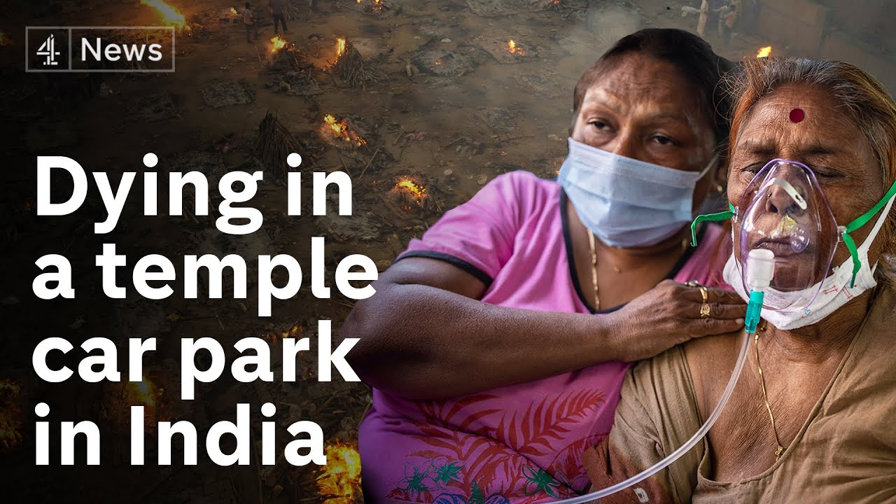 India: No hospital beds - families take their dying to temples