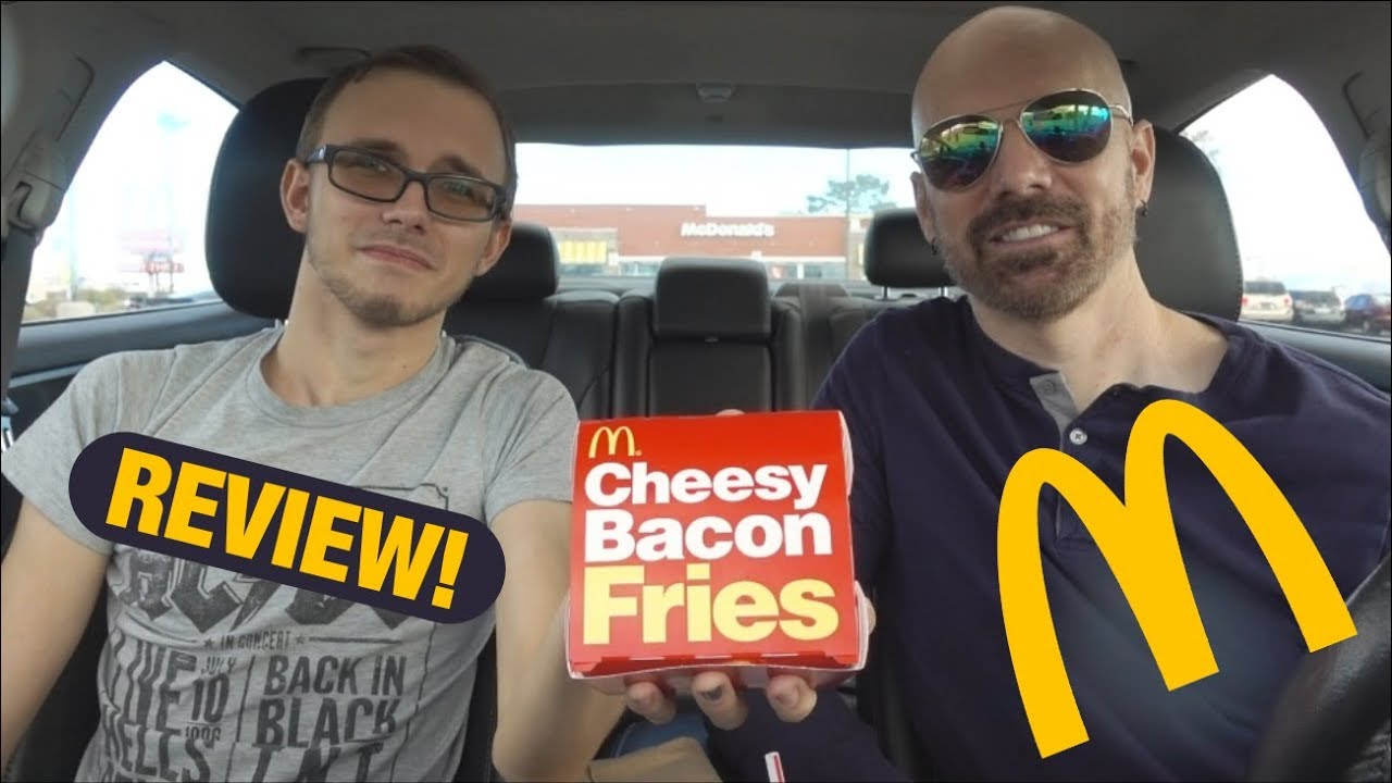 Mcdonalds New Cheesy Bacon Fries Review
