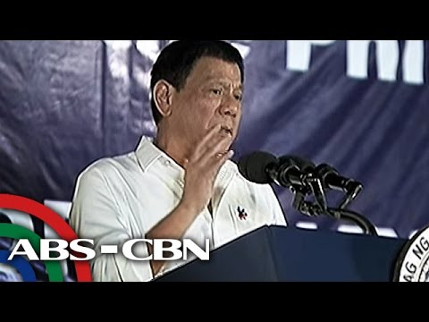 @ANCAlerts: Duterte tells UN: I pay your salaries, don't tell me what to do
