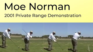 Moe Norman Private Golf  Ballstriking Exhibition 2001 Orlando - Best Moe Video!