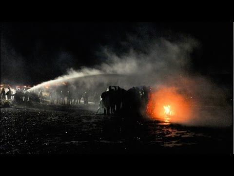 Police Unleash Water Cannons and Rubber Bullets Against Water Defenders in Standing Rock