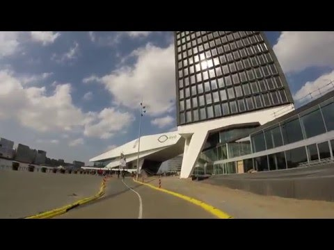 Biking and Taking the Ferry to North Amsterdam