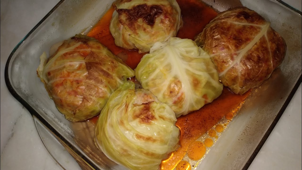 Турецкие Голубцы /Порционная долма из капусты/Турецкая кухня