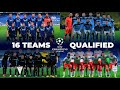 ALL 16 TEAMS QUALIFIED - ROUND OF 16 UEFA CHAMPIONS LEAGUE 2020/21
