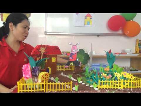 Truyện Cáo Thỏ và Gà Trống - MN Song ngữ Kidlinks