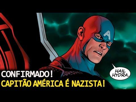 CAPITÃO AMÉRICA SEMPRE FOI NAZlSTA!