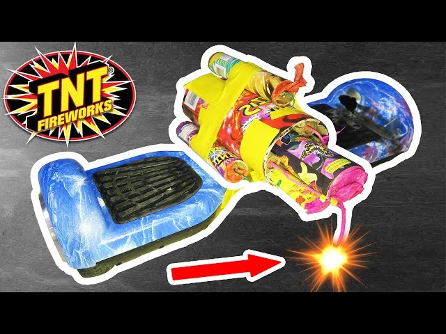 Rocket Powered Hoverboard!
