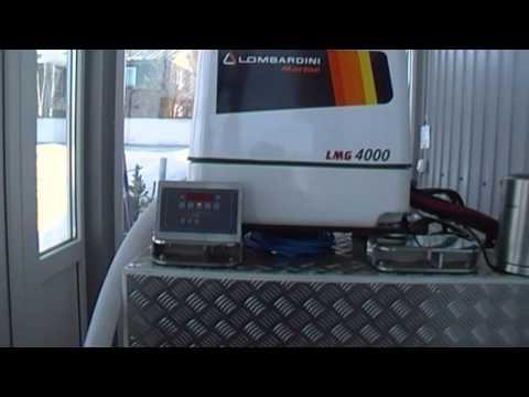 Видео Дизель генератор lombardini motori