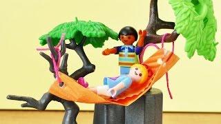 Playmobil deutsch Hängematte für Hannah VOGEL selber basteln | Zubehör für Playmobil selber machen