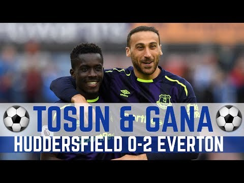 TOSUN & GANA GOALS: HUDDERSFIELD 0-2 EVERTON