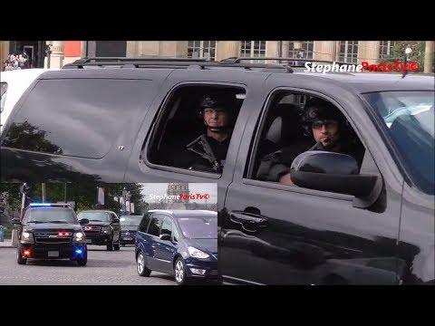 U.S Secret Service Armed  In Paris