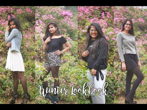 WINTER LOOKBOOK    Holiday Season    ft. Zena ( Fashion Society of IGDTUW)