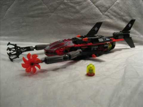 M4X's Creations - Building Lego Alpha Team - Ogel Shark Sub