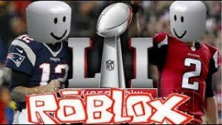 SUPER BOWL SUNDAY IN ROBLOX!!