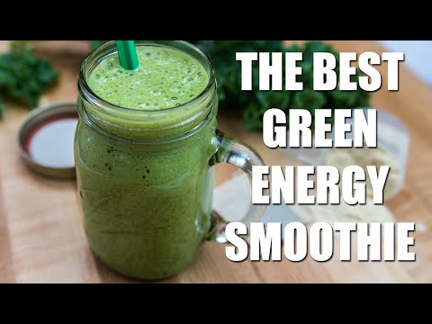 THE BEST Green Energy Smoothie Recipe