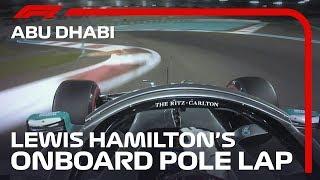 Lewis Hamilton's Onboard Pole Lap | 2019 Abu Dhabi Grand Prix | Pirelli