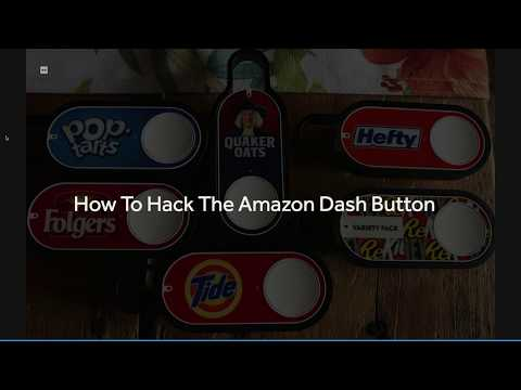 How To Hack Amazon Dash Button