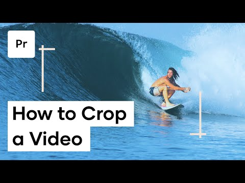 How To Crop Video In Premiere Pro - Adobe Premiere Crop Video thumbnail