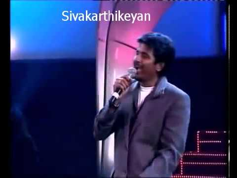 Sivakarthikeyan Comedy Performance In TCS Mega Culturals Part1
