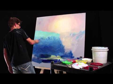 How To Paint Underwater Scenes - Gradients