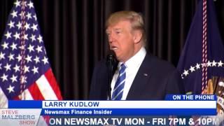 "Malzberg | Larry Kudlow: Trump needs legislature ""W"" - Do Business Tax Cut now"