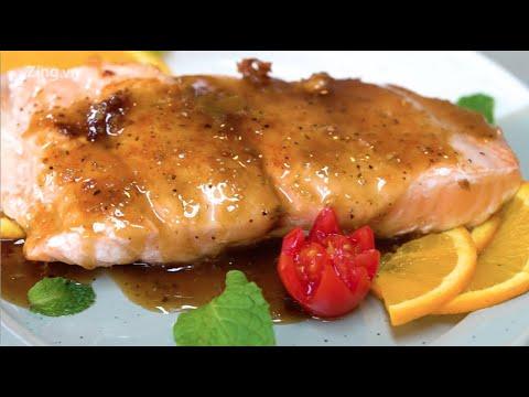 Cá hồi sốt tiêu chanh – Công thức đơn giản cho gia đình