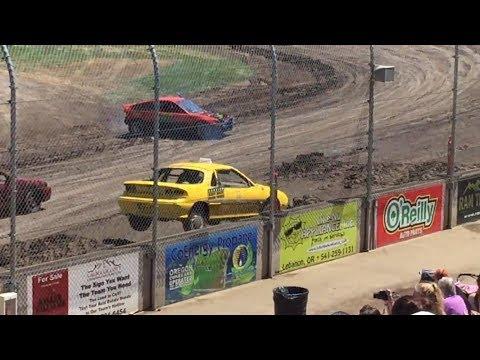 Trash Cars Willamette Speedway 2017