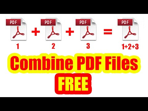 Merge PDF Files Into One | Combine PDF Files Into One OFFLINE