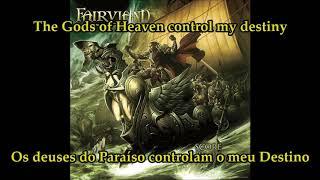 Fairyland - Godsent, on-screen Lyrics + Tradução Pt