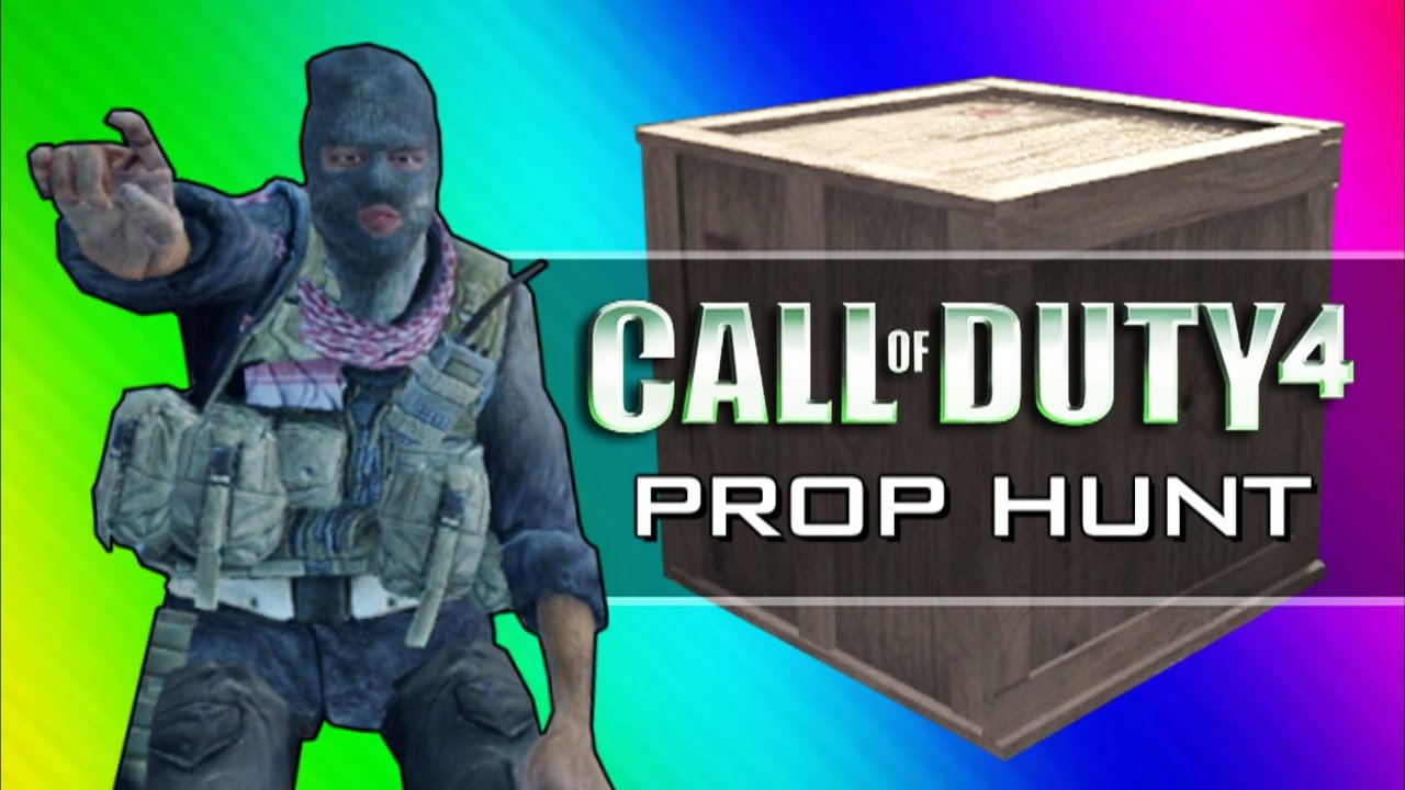 Call Of Duty 4 Prop Hunt Funny Moments Home Alone Rated R Scanning For Retards Cod4 Mod Youtube