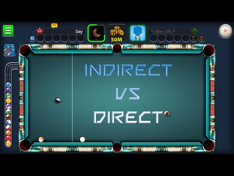 Indirect vs Direct (Part 2) in Berlin Platz (50 Million) | 8 Ball Pool by Miniclip