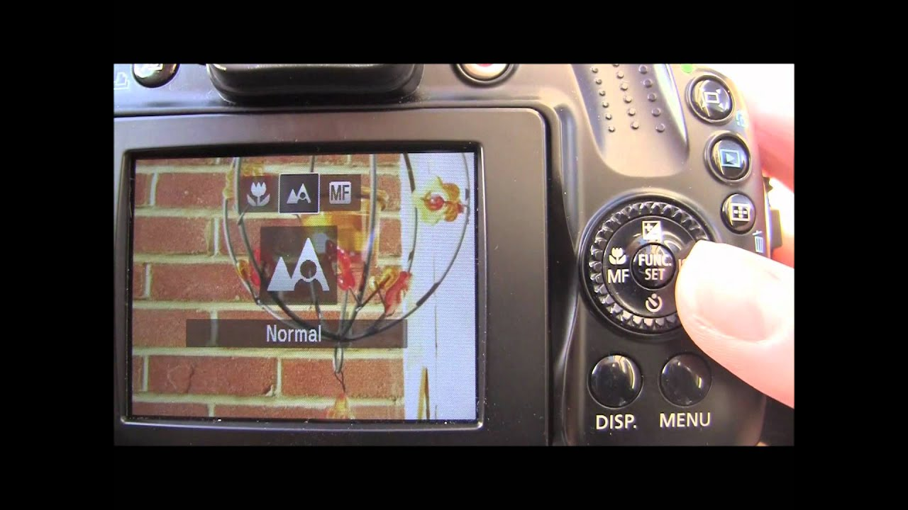canon powershot sx40 hs tutorial step seven manual focus youtube rh youtube com Canon PowerShot SX30 Is 14 1MP Canon SX170