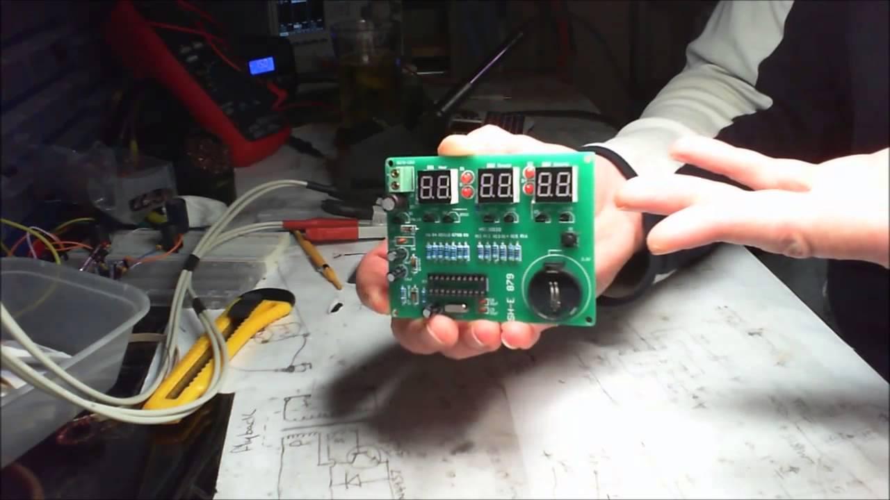 9v 12v Electronic Clock Diy Kits Module At89c2051 6 Digital Led Pt1 Circuit Production Project Suite Board