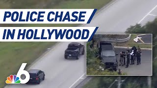 Suspects in Custody After High-Speed Police Chase in Broward County | NBC 6