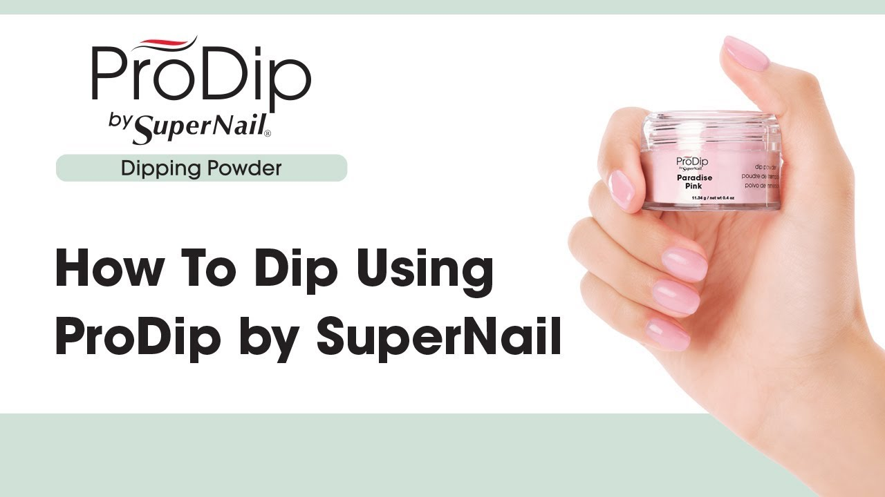How To Dip Using Prodip By Supernail At Sally Beauty Tutorial