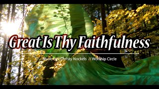 Worship Flags // Great Is Thy Faithfulness // Christy Nockels // Dance Ft: Claire CALLED TO FLAG
