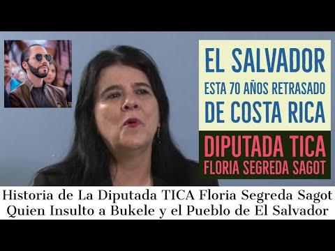 Historia de La Diputada Tica Que Denigro a Bukele y El Salvador