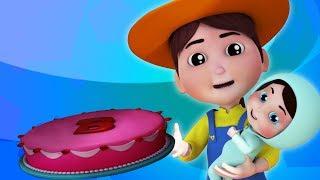 Pat um bolo   padaria rimas   rima de berçário   canções para crianças   Pat A Cake For Kids