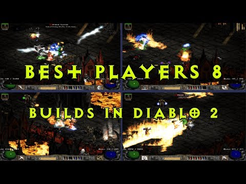 Diablo 2: The 4 best builds VS Chaos run Players 8 - Whose Fastest?