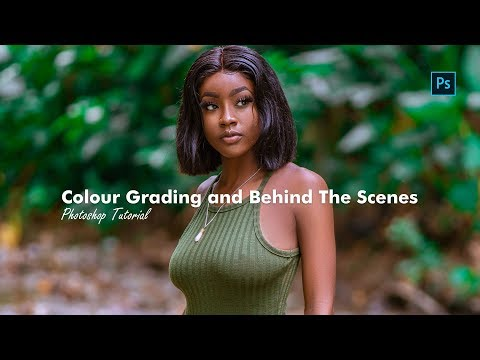 Photoshop Tutorial -  Color Grading and Behind The Scenes thumbnail