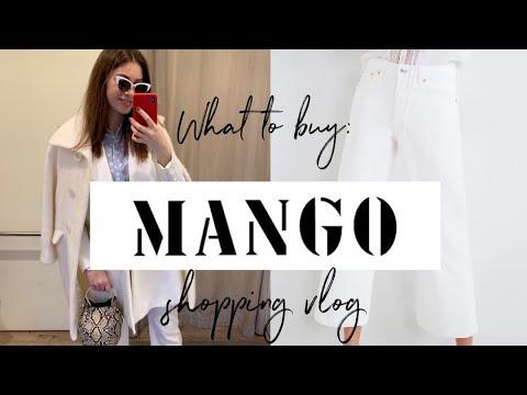 MANGO 🥭 SHOPPING VLOG  ОБЗОР МОДНЫХ НОВИНОК ВЕСНЫ 2019 В МАНГО