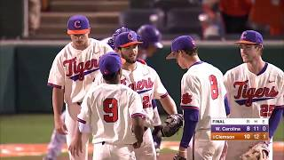 Clemson Baseball || Western Carolina Game Highlights - 5/9/18