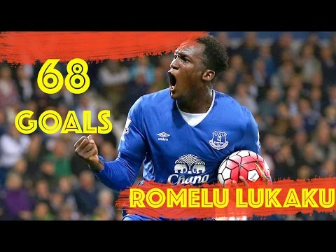 Romelu Lukaku All 68 Goals Everton So Far
