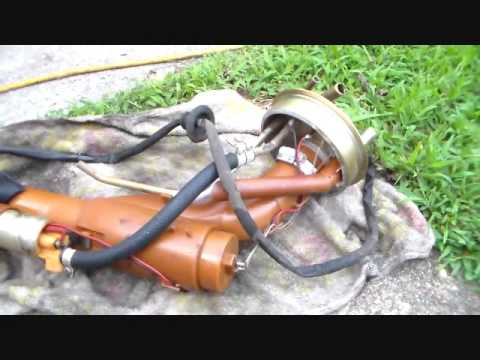 Volvo 240 D24 Wiring Diagram : Volvo in tank fuel pump removal youtube