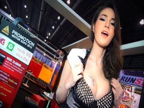 Top พริตตี้ สาวสวยที่สุด Motor Expo 2013 [HD]