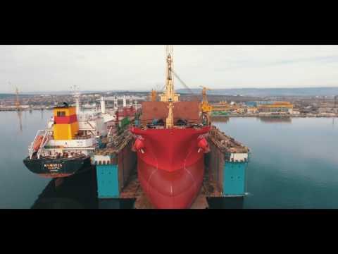 Ship Repair At MTG Dolphin