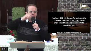 Live IPH 25/05/2021 - EBD - Características de uma Ig. Saudável Disciplina Eclesiástica